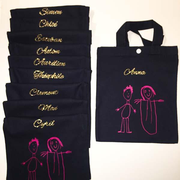textile-tote-bag-kids-dessin-personnalise-enfant-mariage-goodies-pailettes-pimp-my-ideas