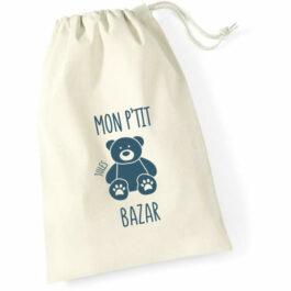Pochon Mon p'tit bazar ours