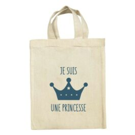 Mini tote bag Princesse