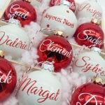 Boule de Noël Famille