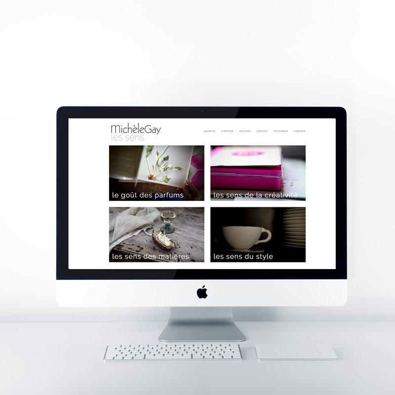 site web michel gay creation agence pimp my ideas