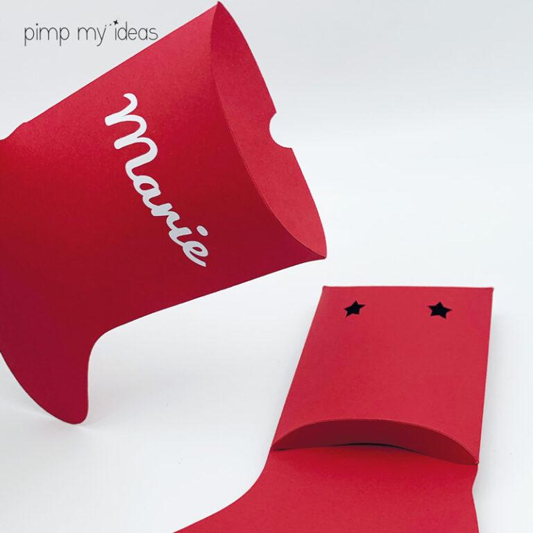pochette cadeau noel artisanat papier pimp my ideas