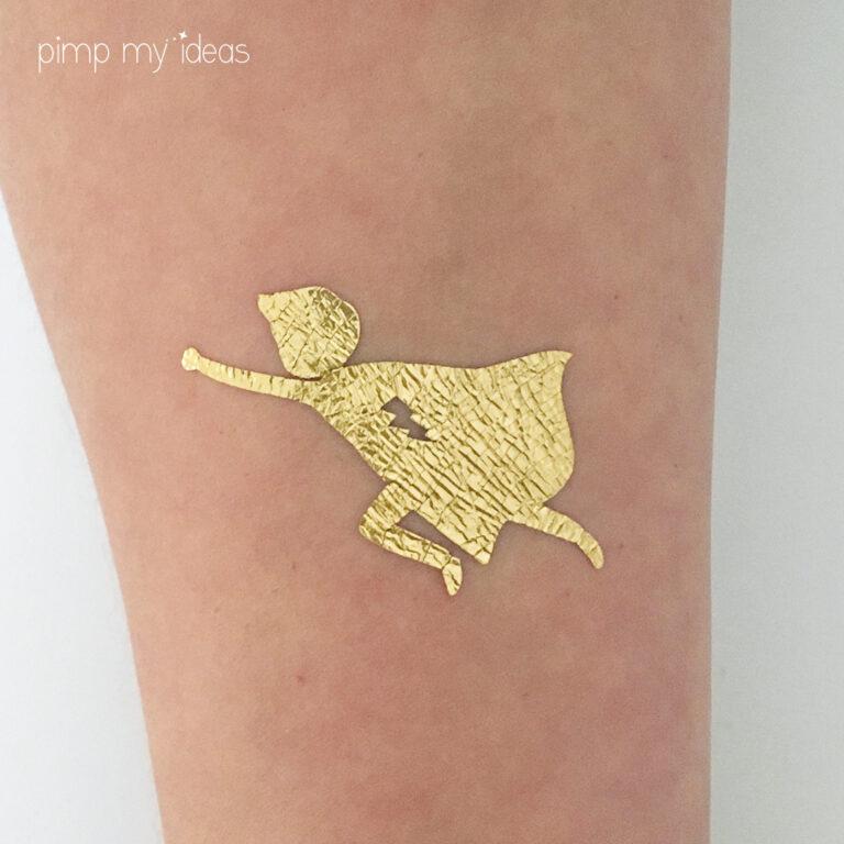 tattoo super heros pimp my ideas ephemère