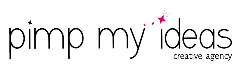 logo pimp my ideas baseline