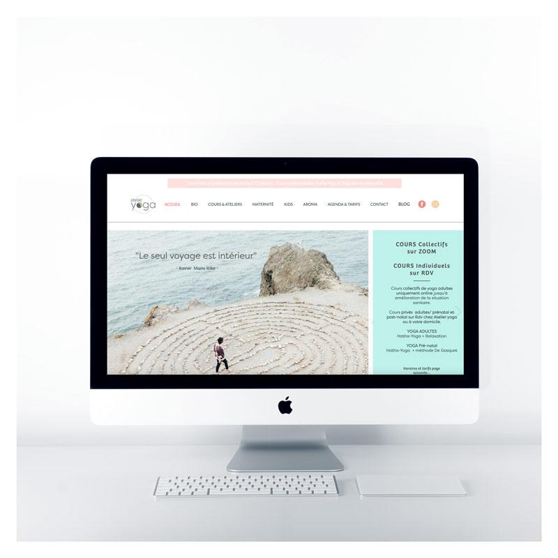 site web atelier yoga pimp my ideas